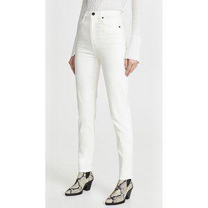 NEW SLVRLAKE Beatnik Slim Straight High Rise Jeans